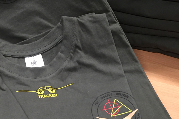 T-Shirts Austrian Armed Forces - UAS Tracker Team